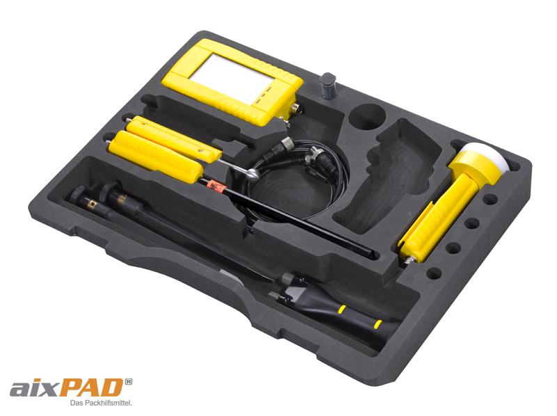 Koffereinlagen - Koffereinsatz für Gerätekoffer, Präsentationskoffer, Maschinenkoffer aus Verpackungsschaum